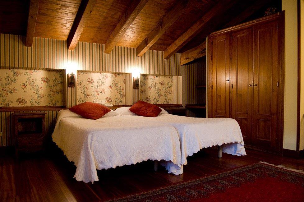Sala de estar del Hotel Rural Matsa, Lezama, Vizcaya